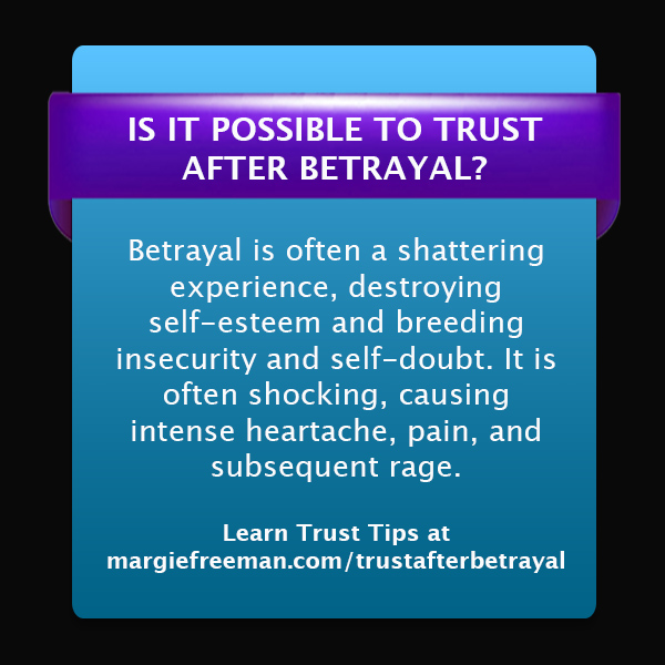 Trust After Betrayal Quotes: Counseling Care Specialties