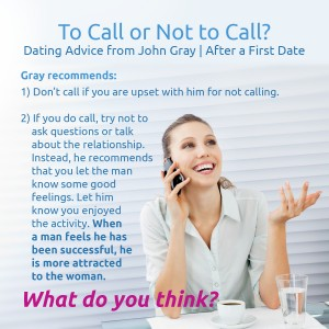 Dating first phone call questions