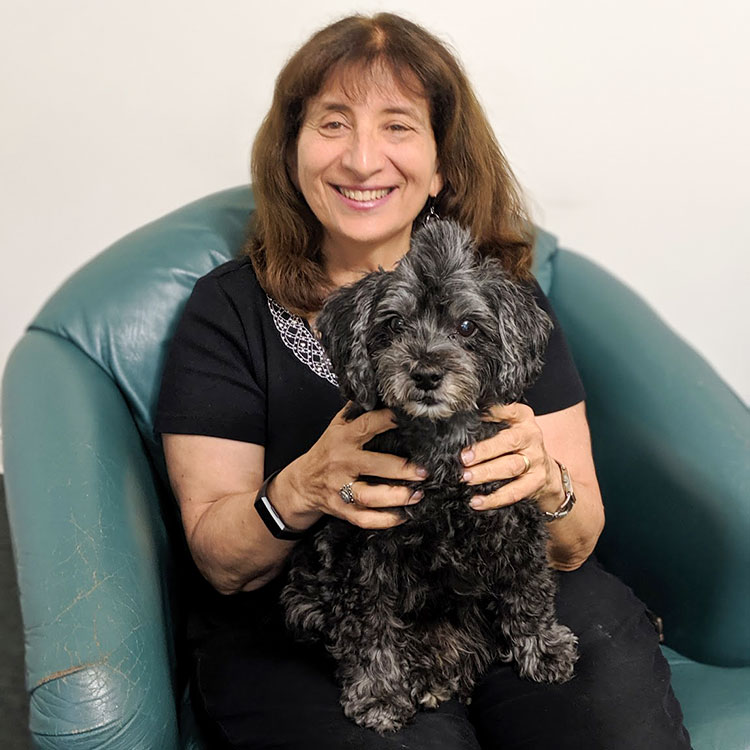 Lessons from a dog from a therapist